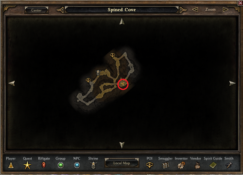 Baron Wradlith's Location