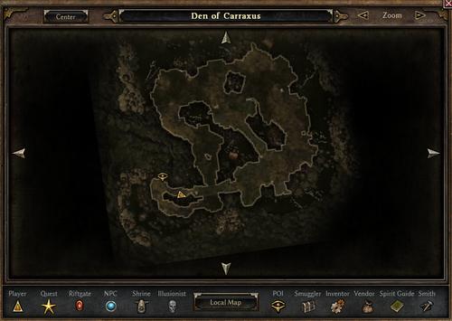 Den of Carraxus - Official Grim Dawn Wiki