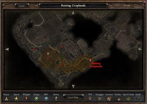 Harrath possible spawn locations