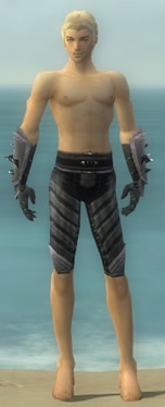 Elementalist Obsidian Armor M gray arms legs front.jpg