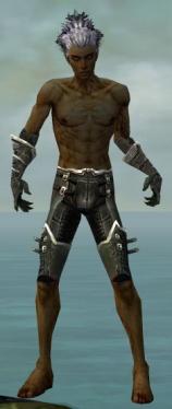 Necromancer Kurzick Armor M gray arms legs front.jpg