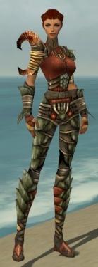 Ranger Elite Drakescale Armor F gray front.jpg