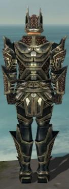 Warrior Elite Kurzick Armor M gray back.jpg