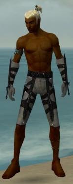 Assassin Obsidian Armor M gray arms legs front.jpg