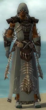 Dervish Primeval Armor M gray front.jpg