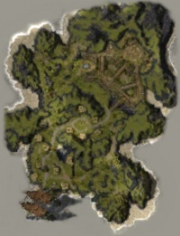 Map of Hunter's Isle