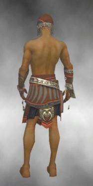 Ritualist Asuran Armor M gray arms legs back.jpg