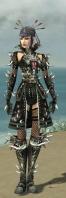 Necromancer Elite Canthan Armor F gray front.jpg