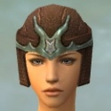 Warrior Gladiator Armor F gray head front.jpg