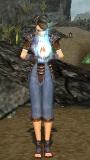 Female Monk Divine Aura