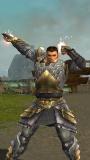 Male Warrior Divine Aura