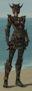 Warrior Elite Dragon Armor F gray front.jpg