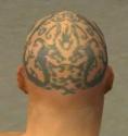 Monk Dragon Armor M gray head back.jpg