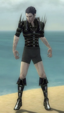 Necromancer Elite Cabal Armor M gray chest feet front.jpg