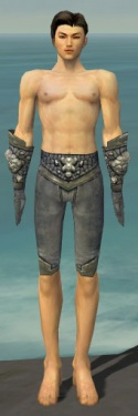 Elementalist Stoneforged Armor M gray arms legs front.jpg