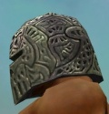 Warrior Elite Platemail Armor M gray head side.jpg