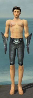 Elementalist Stormforged Armor M gray arms legs front.jpg