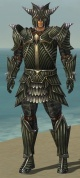 Warrior Wyvern Armor M gray front.jpg