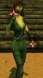 Female Assassin Divine Aura