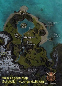 Path to the Haiju Lagoon