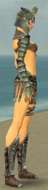 Warrior Elite Gladiator Armor F gray side alternate.jpg