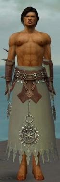 Dervish Sunspear Armor M gray arms legs front.jpg