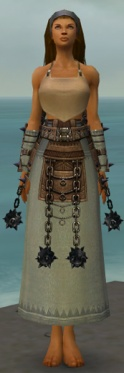 Dervish Obsidian Armor F gray arms legs front.jpg