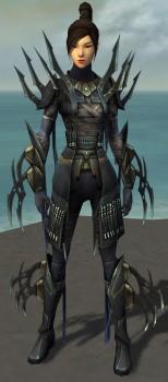 Zenmai Mysterious Armor F gray front.jpg