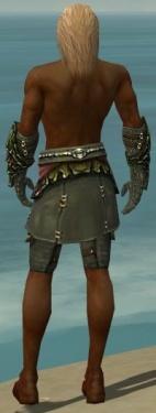 Ranger Elite Luxon Armor M gray arms legs back.jpg