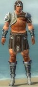 Warrior Gladiator Armor M gray front.jpg