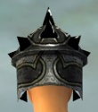 Warrior Obsidian Armor F gray head back.jpg