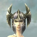 Warrior Templar Armor F gray head front.jpg