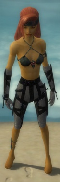 Assassin Obsidian Armor F gray arms legs front.jpg