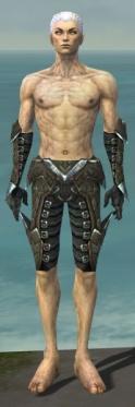 Necromancer Profane Armor M gray arms legs front.jpg