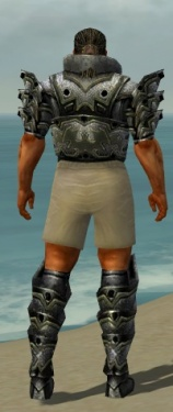 Warrior Obsidian Armor M gray chest feet back.jpg