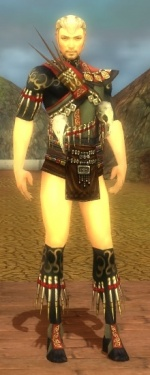Ritualist Elite Canthan Armor M gray chest feet front.jpg