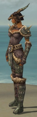 Warrior Charr Hide Armor F gray side.jpg