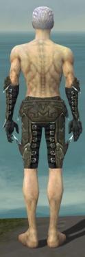 Necromancer Profane Armor M gray arms legs back.jpg