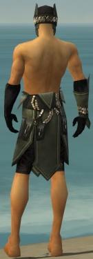 Ritualist Kurzick Armor M gray arms legs back.jpg
