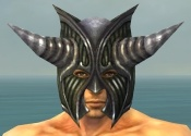 Warrior Wyvern Armor M gray head front.jpg