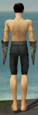 Elementalist Flameforged Armor M gray arms legs back.jpg