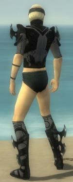 Assassin Kurzick Armor M gray chest feet back.jpg