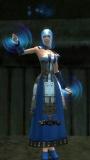 Female Dervish Divine Aura