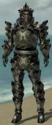 Warrior Obsidian Armor M gray front.jpg