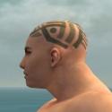 Monk Labyrinthine Armor M gray head side.jpg