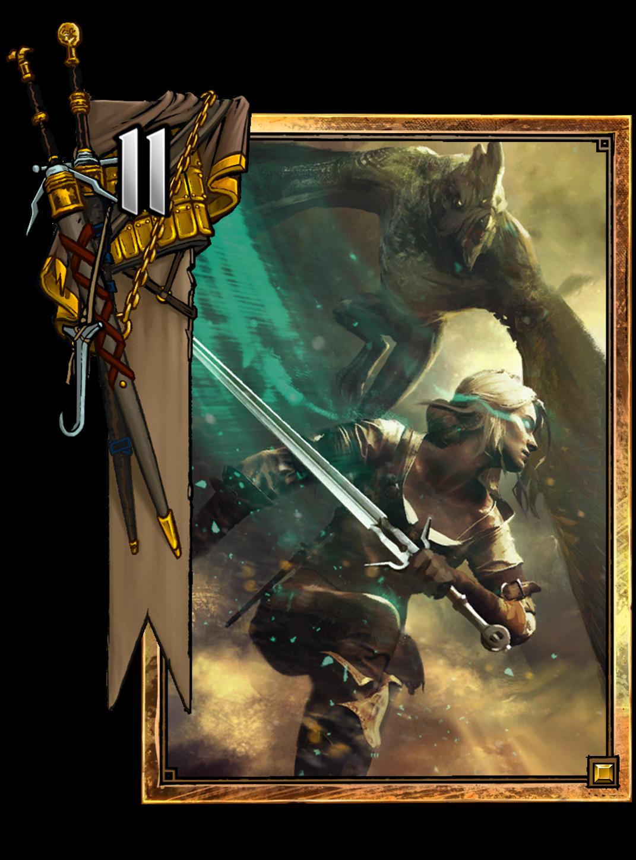 Ciri dash gwent wiki - Ciri gwent card witcher 3 ...