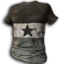 Gray Striped Shirt With Star.png