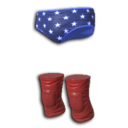 Murica Trunks And Kneepads.png