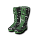 Barbed Wire Wrestling Boots.png