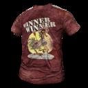 Hardcore Winner Winner Chicken Dinner T Shirt.png